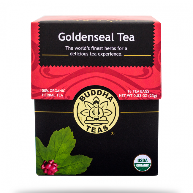 What is goldenseal tea good for