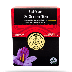 Saffron & Green Tea