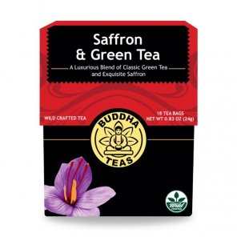Saffron & Green Tea