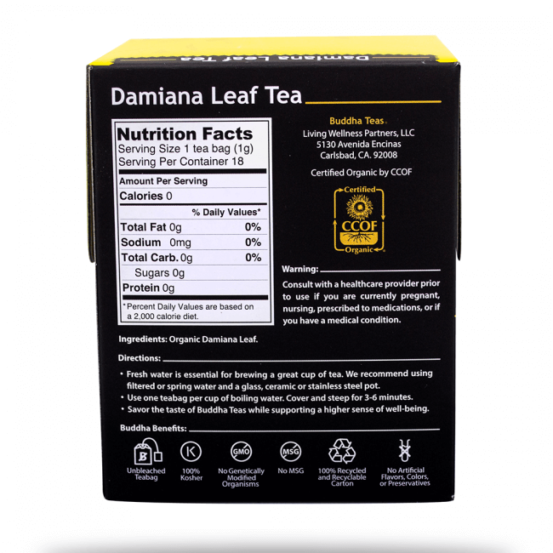 Damiana tea reviews