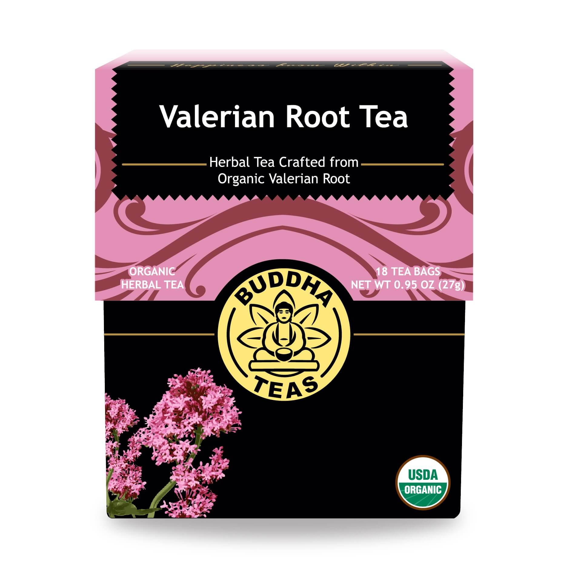 Buy Valerian Root Tea Bags Enjoy Health Benefits of Organic Teas