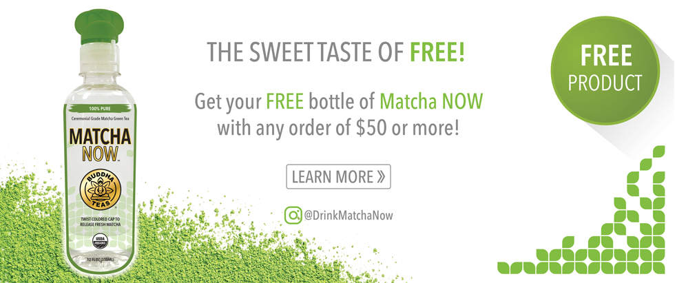 FREE Matcha NOW Bottle