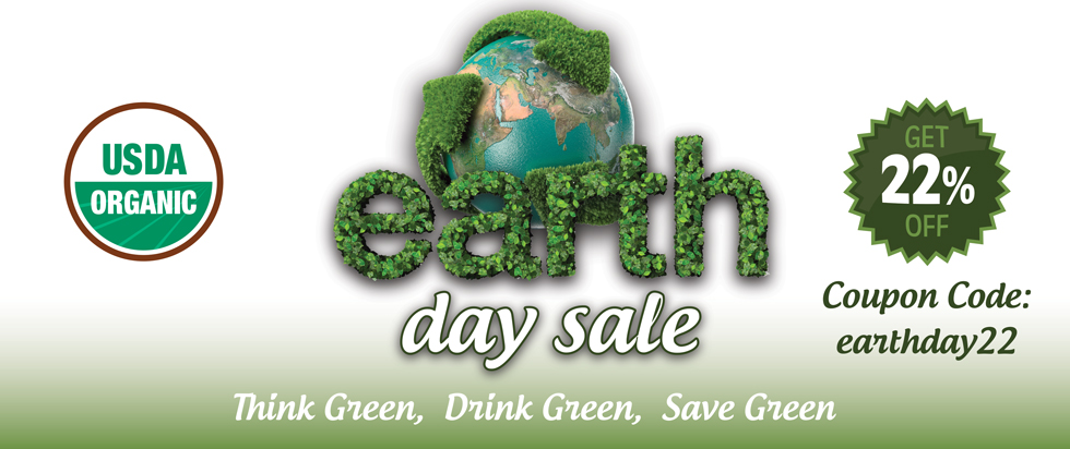 Earth Day Sale 2018